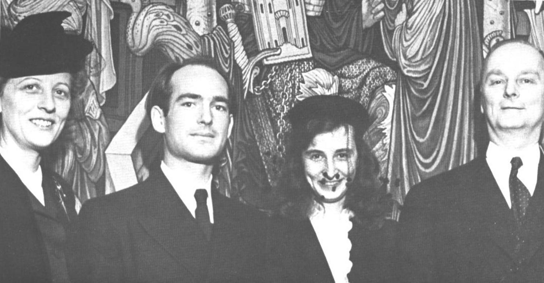 1943: Harry U0026 His Wife, Brigitta Valentiner. U201c