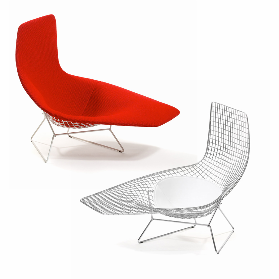 Beautiful With Bertoia Chaise
