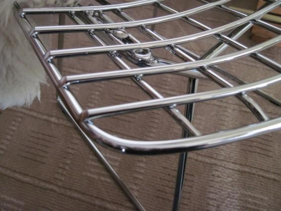 ... Typeu201d Base Connector, Angle Cut Grid Wires, And The Front Rim Wire On  Top Of Grid Wires In A U201cwaterfallu201d Identify An Authentic Knoll Bertoia Chair .