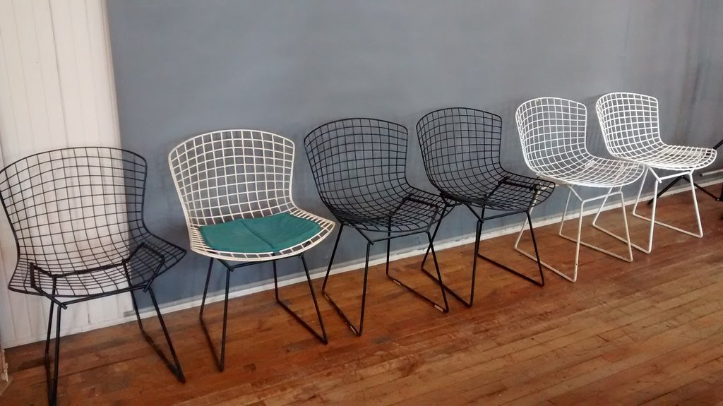 Pleasant Id Bertoia Chairs Harry Bertoia Foundation Theyellowbook Wood Chair Design Ideas Theyellowbookinfo